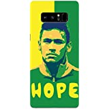 Samsung Note 8 Cases And Covers Neymar Football Water Color For Neymar Fans Designer Printed Hard Shell Case