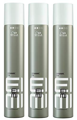 3er Dynamic Fix 45 Seconds Styler Wella Profesionals EIMI Styler Modellier Haar Spray 500 ml -