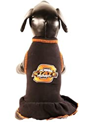 NCAA Oklahoma State Cowboys Collegiate Cheerleader Dog Dress (XX-Small) by All Star Dogs