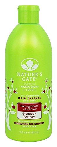 Nature's Gate - Vegan balsamo capelli difesa melograno + girasole - 18 oz.