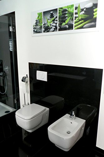 Bidet incl. Spezialbefestigung / Weiß / wandhängend / Best Clean Nanobeschichtung /