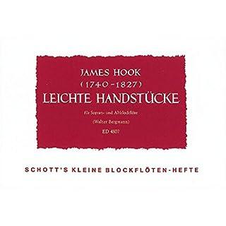 Leichte Handstücke: Sopran- und Alt-Blockflöte. Spielpartitur.