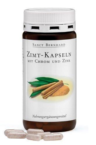 Sanct Bernhard Zimt-Kapseln mit Chrom und Zink