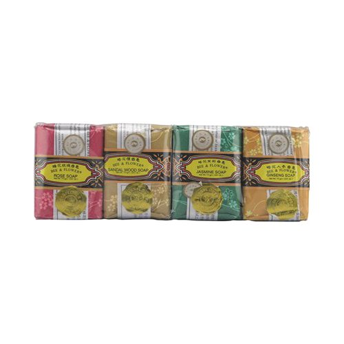 Bee & Flower Soap Soap Variety Gift Pack, 2.65 Oz 4 Pc