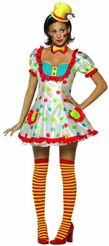 Clown - weiblich - Rasta Imposta - Adult (Kostüme Rasta Imposta)