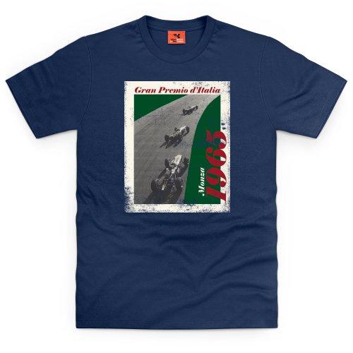 1965 Monza T-Shirt, Herren Dunkelblau