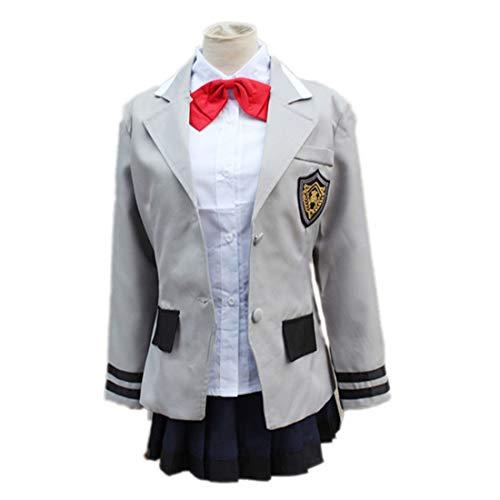 Japanische Charakter Kostüm Anime - ZY Anime Charakter Spiel Charakter Japan Campus Uniform Japanischen Anime Fancy Party Style Uniform Anime Kostüm Anime Charakter Kostüm Vollkostüm,Full Set-M