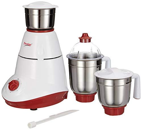 Prestige Star 750-Watt Mixer Grinder with 3 Jars (White)
