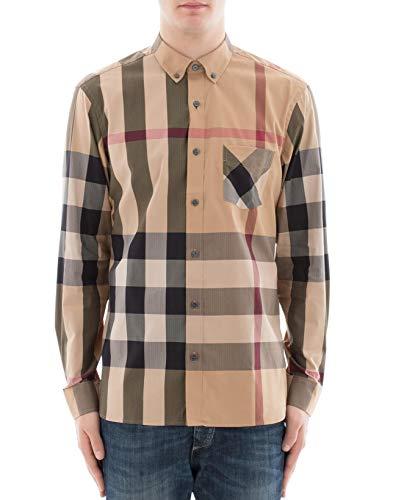 Burberry camicia uomo 4045831 cotone