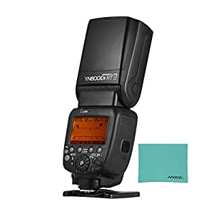 YONGNUO YN600EX-RT II Professional Creative TTL Master Flash Speedlite 2.4G Wireless 1/8000s HSS GN60 Support Auto/Manual Zooming for Canon Camera as 600EX-RT YN6000 EX RT II