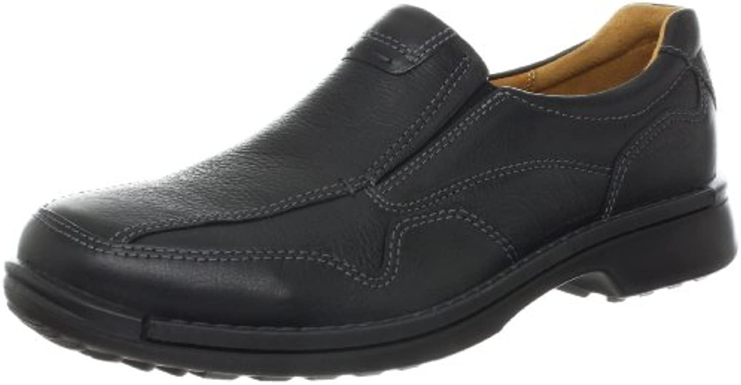 Ecco Fusion Slip On Herren US 8 Schwarz Slipper