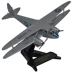 Herpa Miniaturmodelle GmbH Herpa 8172dr009-Avión, Air Couriers DH Dragon Rapide Rac Aerial Patrol, Color Blanco