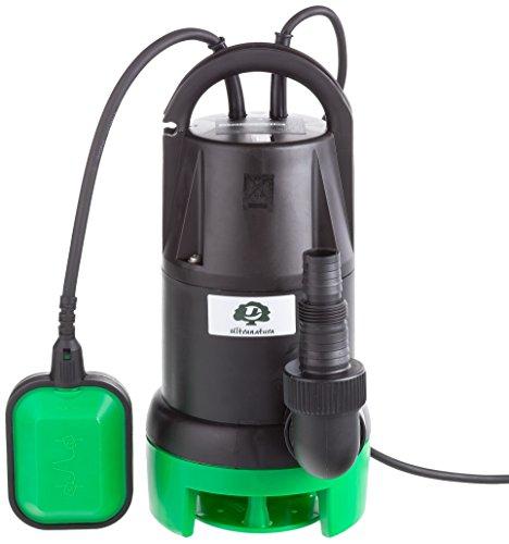 Ultranatura Schmutzwasserpumpe SP-100, 350 Watt, Tauchmotorpumpe mit Schwimmerschalter - Fördermenge bis 7.000 l/h, Förderhöhe max. 5 m (Schwimmerschalter Wasserpumpe)