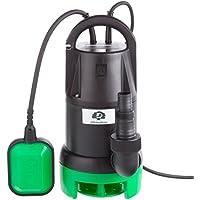 Ultranatura Aguas residuales SP-100, 350 W, Bomba de Motor Sumergible con Interruptor de Flotador caudal 7000 l/h, Altura de elevación máxima de 5 m