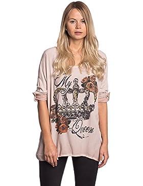 [Patrocinado]Abbino 15111 Camisas Blusas Tops Para Mujeres - Hecho EN Italia - Colores Variados - Entretiempo Primavera Verano...