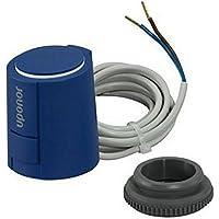 Actuador Térmico Uponor Smart Thermo Drive S 230V con anillo adaptador VA80 M30x1,5mm (1087763)