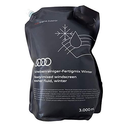 Audi 4M8096323A020 Scheibenreiniger Winter Fertigmix Wischwasser Standbodenbeutel, 3 Liter
