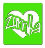 Glitter Tattoo Stencils - SD052 Zumba Love Stencils x 5
