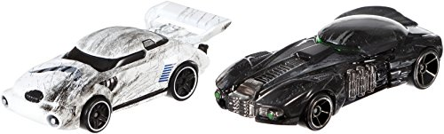 Hot Wheels Star Wars Rouge One Fahrzeuge 2-er Pack - DXP95 Stormtrooper & Death Trooper