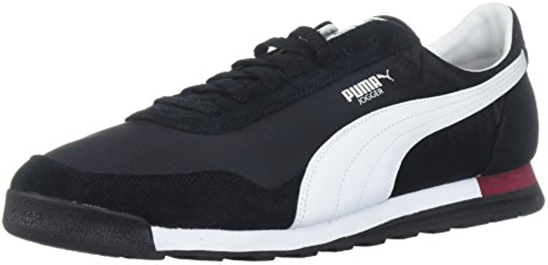 PUMA Men's Jogger OG Sneaker  Black White  9.5 M US