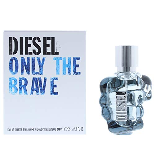 Diesel Only The Brave homme/men, Eau de Toilette, Vaporisateur/Spray, 35 ml Charakter Männer