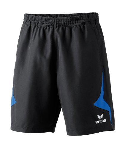 ERIMA Herren Short Razor Line, schwarz/new royal,M (6)