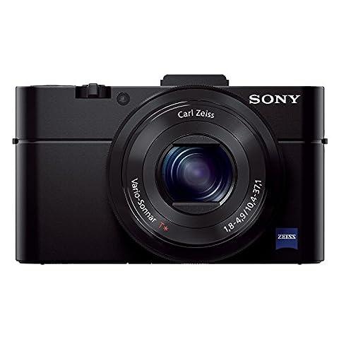 Sony DSC-RX100M2 Appareil Photo Expert Large Capteur 1'' CMOS Exmor R, 20,2 Mpix, Optique Lumineuse