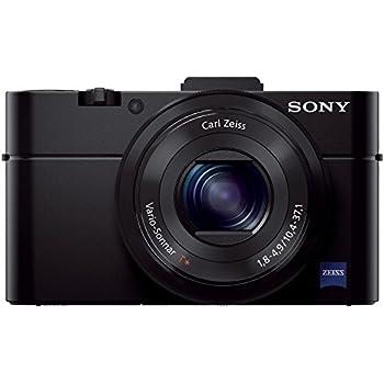 Sony DSC-RX100 II Cyber-shot Digitalkamera (20 Megapixel, 3,6-fach opt. Zoom, 7,6 cm (3 Zoll) Display, Full HD, bildstabilisiert, NFC, WiFi) schwarz