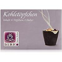 Berk HS-60 Räucherwerk - Kohletöpfchen a 6 Stück pro Packung preisvergleich bei billige-tabletten.eu