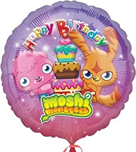 Amscan - Globos Moshi Monsters (Amscan International 2437701)