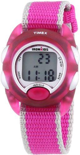 Timex Ironman T7B9804E - Reloj digital de cuarzo infantil con correa de nylon, color multicolor