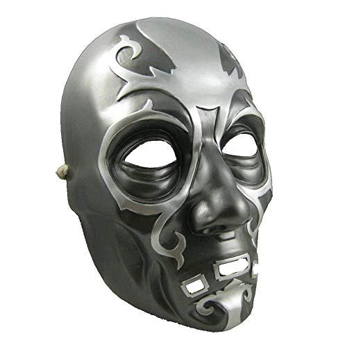 Dymas lucio harry potter halloween maschera maschera di resina