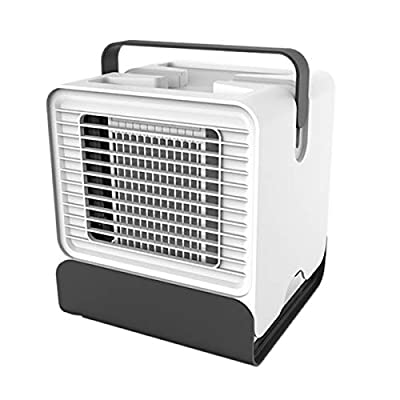 Bilisder Air Cooler Portable Air Conditioner Cooling Fan Small Desk Humidifier Fan for Office Home