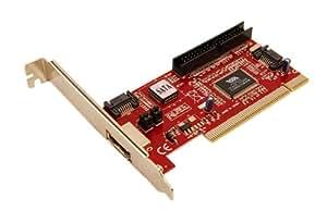 LogiLink PC0005A Carte graphique SATA/IDE 2 Ports PCI Express