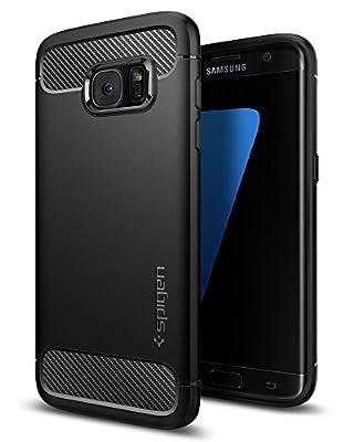Spigen Galaxy S7Edge Coque, [Rugged Armure] Resilient [Black] Protection Ultime Contre Les Chutes et Les impacts pour Samsung Galaxy S7Edge (2016)–556Cs20033 par Spigen - Coques et housses