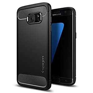 Spigen Rugged Armor Back Case For Samsung Galaxy S7 Edge - Black 556Cs20033