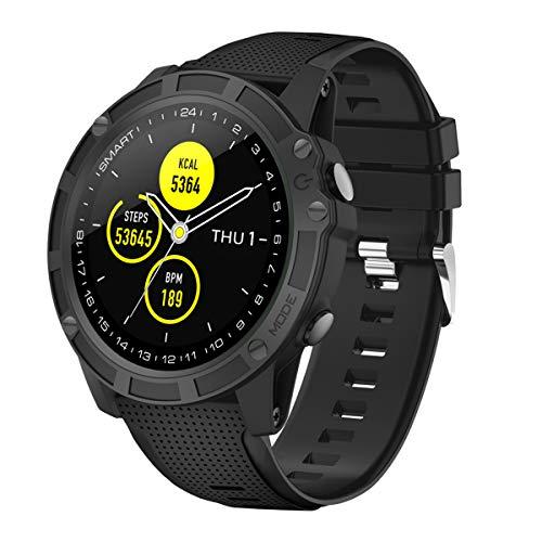 【Neuestes Modell】 Smartwatch,Antimi Fitness Uhr Bluetooth Smart Watch Fitness Tracker mit Pulsuhr Schrittzähler Blutdruckmessung und Sportuhr IP68 Wasserdicht Damen Herren Uhr für IOS/Android Coole Touchscreen-handys