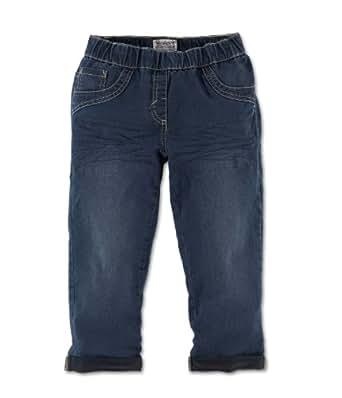 s.Oliver Mädchen Capri Jeans Normaler Bund 66.305.72.2094, Gr. 134 (FormREG), Blau (56Z7)