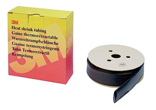 Preisvergleich Produktbild 3M HSR3, 2 HSR Dünnwandiger Warmschrumpfschlauch auf Rolle,  3, 2 / 1, 6 mm,  11 m,  Schwarz