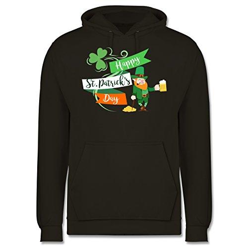 St. Patricks Day - Happy St. Patricks Day Kobold - Herren Hoodie Olivgrün