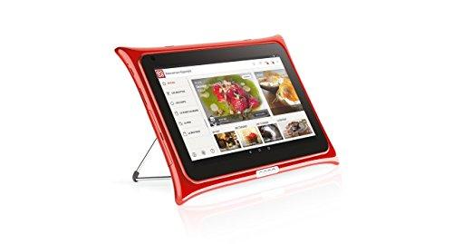 QOOQ V4 Rouge - Tablette Tactile 10,1 Pouces -...