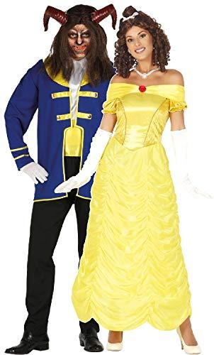 stüme für Paare, Damen, Herren, Märchen, Filmbuch Prinz, Prinzessin, Halloween, Kostüme ()