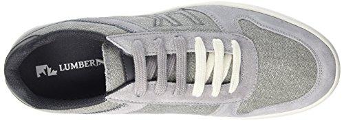 Lumberjack Wolf, Sneaker a Collo Basso Uomo Grigio (Grey/Dk Grey)
