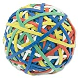 5 Star Office Rubber Band Ball Of 200 Bands Natural Rubber (Assorted)