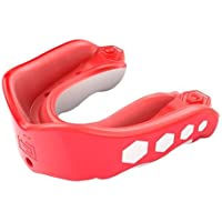 Shock Doctor Gel Max Fruit Punch Flavor Fusion Mouth Guard - Red