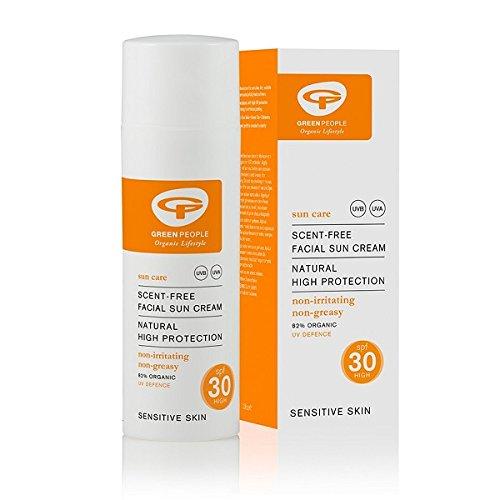 Facial Sun Care (Green People, Facial Sun Cream SPF30 50ml)