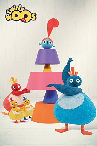 empireposter - Twirly Woos - Cake - Größe (cm), ca. 61x91,5 - Poster, NEU - Maxi Daisy