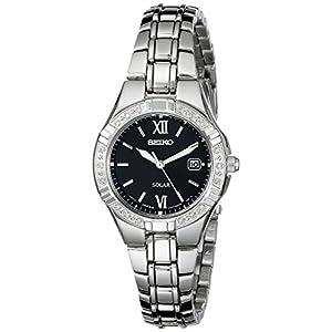 Seiko SUT067 – Reloj para Mujeres, Correa de Acero Inoxidable Color
