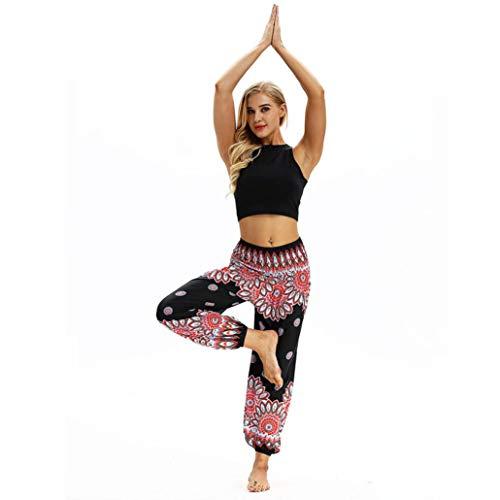 b9d9fb2f7f3e ITISME Jeanshosen Femmes Sexy Mode De Yoga DéContractéS Hippy LâChes De  Femmes De Harem Baggy Boho