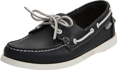 be7fd7532f1 Sebago Docksides Chaussures Bateau Homme Noir Black 1 À La Mode Jeu ...